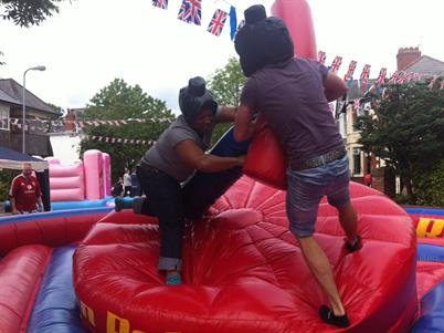 gladiator jousting hire