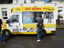 Ice cream van hire south wales